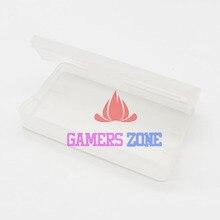 50pcs en plastique transparent cartouche housses pour GBA GBA SP GBM jeux boîte à poussière