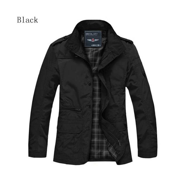 2016 chaqueta de Invierno hombres de la venta caliente hombre chaqueta grande 5XL ocasional trinchera abrigo de invierno otoño grueso aislamiento de algodón prendas de vestir exteriores