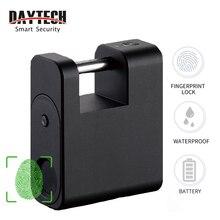 DAYTECH Smart Fingerprint Padlock Door Lock Security Locker USB Rechar
