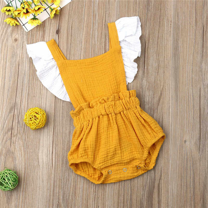 0-18M 6 M-4 T Kleine Grote Zus Kids Baby Meisje Bloemen Romper Jurk Familie Bijpassende outfits Ruches Backless Meisjes Romper Jurk
