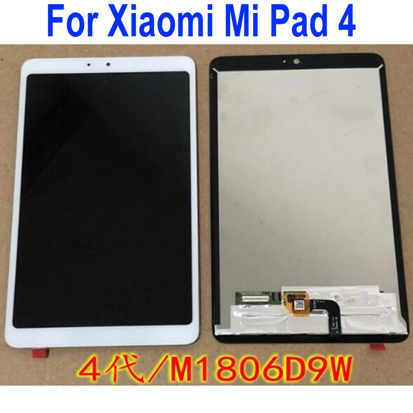 100% Tested Best Working Sensor LCD Display Touch Panel Screen Digitzer Assembly For Xiaomi Mi Pad 4 Mipad 4 / Mipad 4 Plus