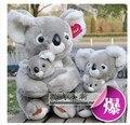 Чучела животных 23 см серый коала плюшевые игрушки милые мягкие коала кукла подарок w2522