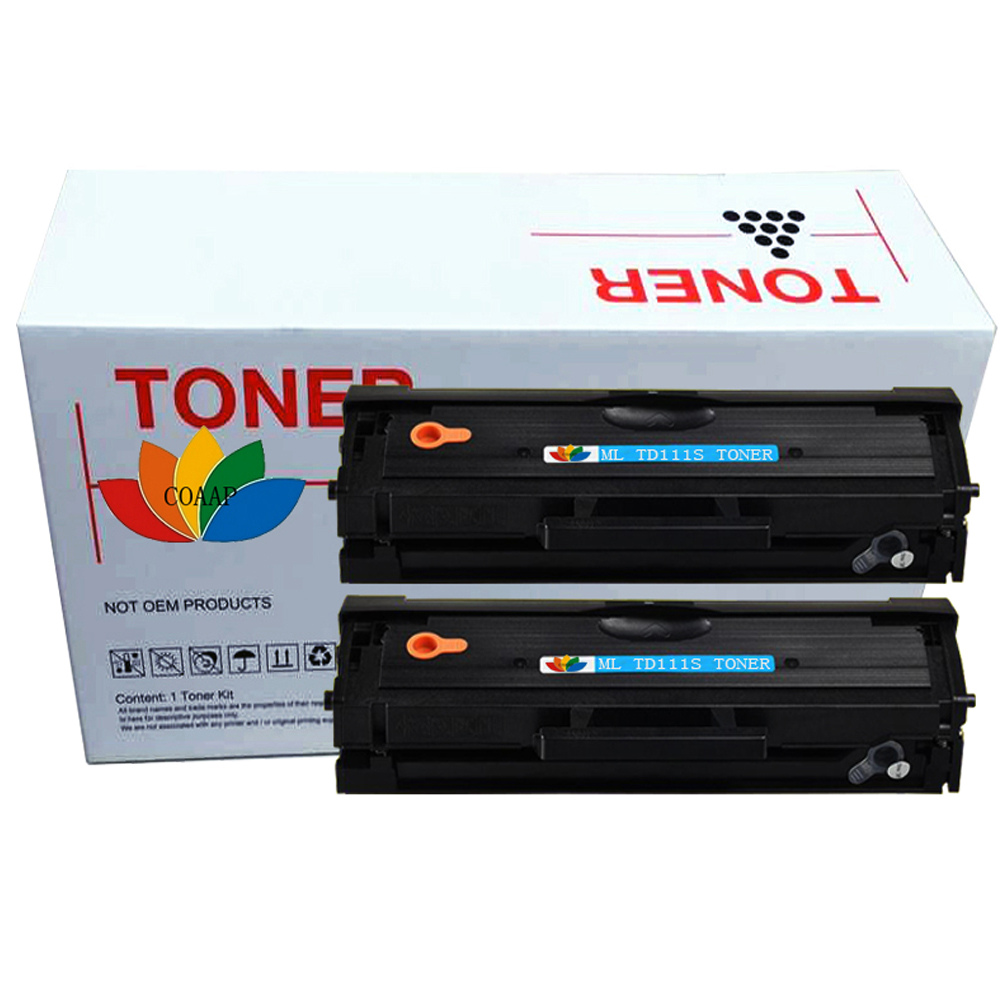 2 Compatible Toner for Samsung Xpress M2020 M2022 M2022W M2070W M2070 FW SL-M2022 MLT-D111S 1 8k page toner cartridge mlt d111s mlt d111s d111l for samsung xpress m2020 m2020w m2026 m2070fw m2070w m2070 m2022w 2 pk