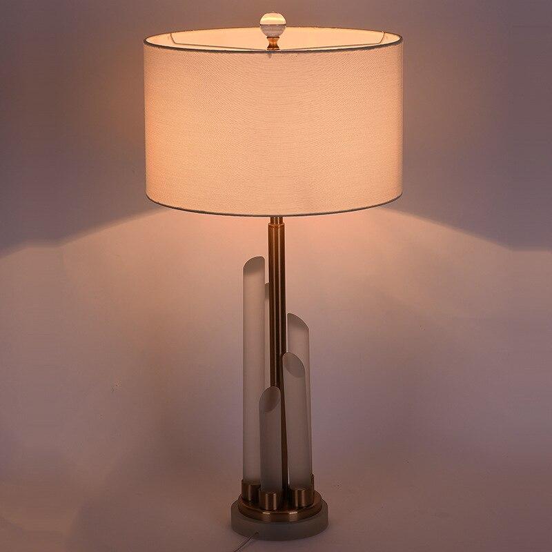 Туда 35X60 см Бесплатная доставка модные креативные K9 Кристалл Настольная лампа современный минималистский Стиль Настольная лампа для Спаль...