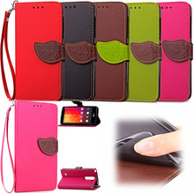 Elegant Leaf Design PU leather Wallet Case For LG Magna Wallet Card Holder stand Flip Mobile Phone Bags cover
