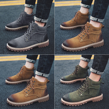 2018 Man Martins Boots Fashion Ankle Chelsea Men Casual Classic Military Motorcycle Shoes Male Doc Sneakers Zapatos Hombre