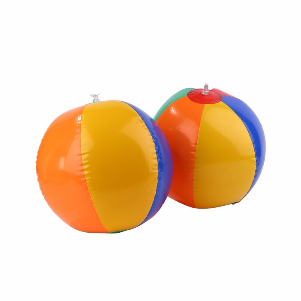 Outdoor Colored Inflatable Ball Balloons Swimming Pool Play Party Water Game Balloons Beach Sport Ball Kids Fun Toys tennis ball