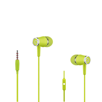 100pcs xunbeifang manufacturers wholesale 3.5MM interface in-ear mobile phone earphone with Mic for i-Phon Android smart phone