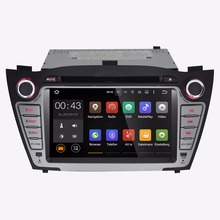 7 Inch Android 5.1.1 Car DVD Player For 2010-2013 Hyundai IX35 Tucson Capacitive Touch Quad Core 1024*600 Free MAP Multimedia