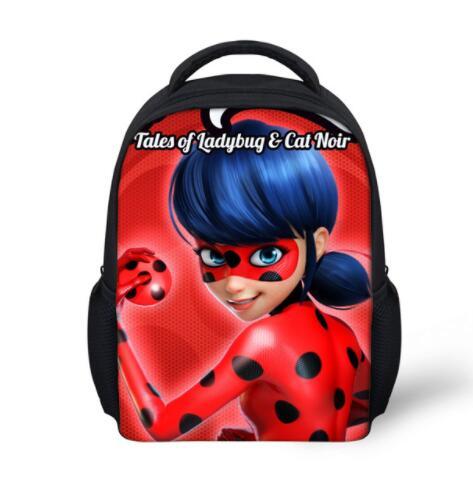 Newest backpacks for children school bag kindergarten baby schoolbag ladybug printing backpack girls bagpack