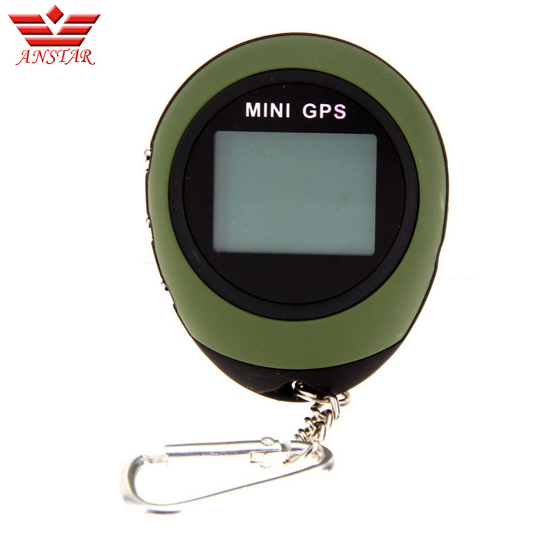 ANSTAR GPS Tracker MINI Tracking Device for Outdoor Hunting Portable Navigator Travel Keychain Micro Handheld GPS Locator