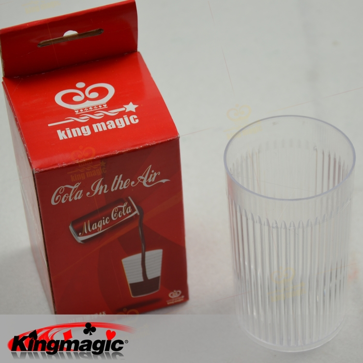 Holiday Sales Cola In The Air Floating Cup Multi Magic Props Kingmagic