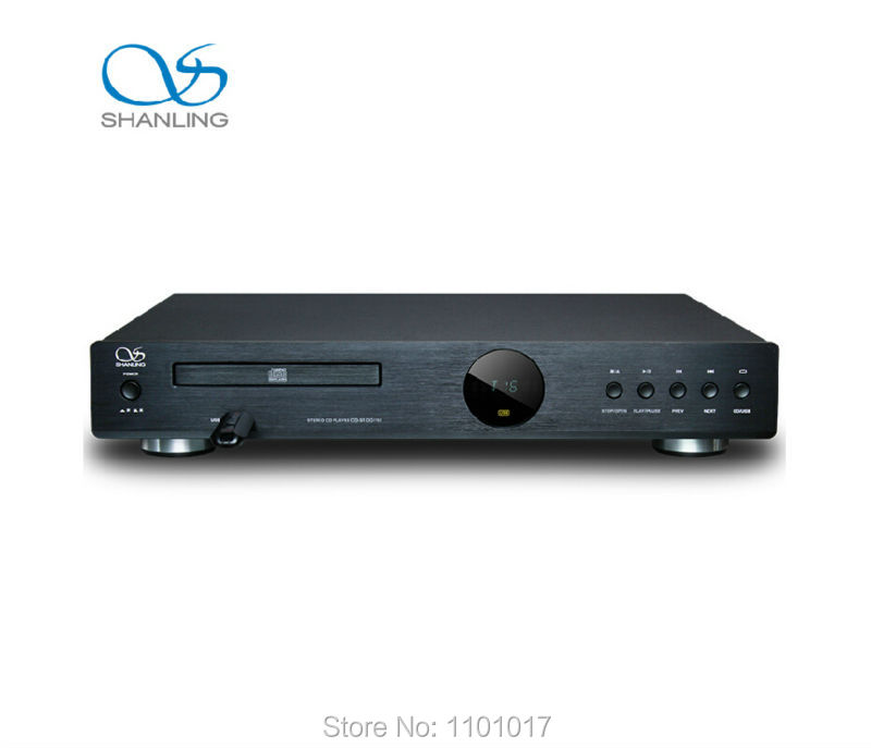 ShanLing CD-S100 (15) CD HDCD Player USB Reader Silver Version HIFI EXQUIS CD Turnable with remote control CDS100 team up 1 sb reader with audio cd