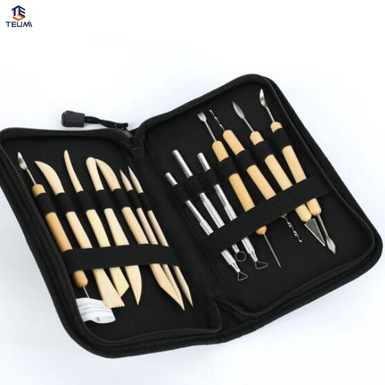 Carving Pottery Tools Clay Tool Kit 14pcs/set Clay Sculpting Wax Wooden Metal Pottery Molding Sculpture Sculpting Clay Tool Kit Arts,crafts & Sewing Orders Are Welcome. Pottery & Ceramics Tools