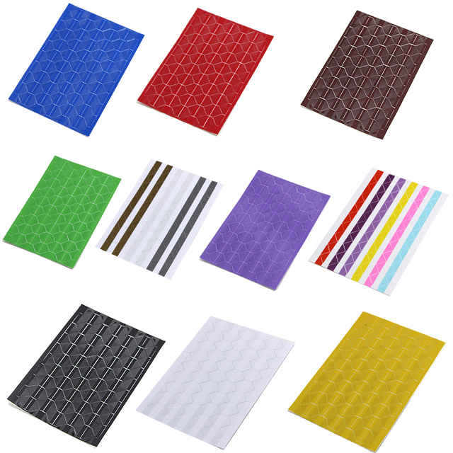 102 pcs/sheet New PVC Stickers DIY Colorful Corner Scrapbook Paper Photo Albums Frame Picture Decoration