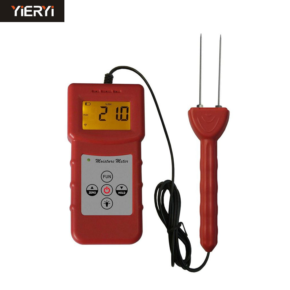 100% New Brand MS-C Textile Moisture Meter Measuring For Textile Materials, Clothes, Cotton, Yarm, Wool Moisture Meter Tester Ra mc 7806 digital moisture analyzer price with pin type cotton paper building tobacco moisture meter