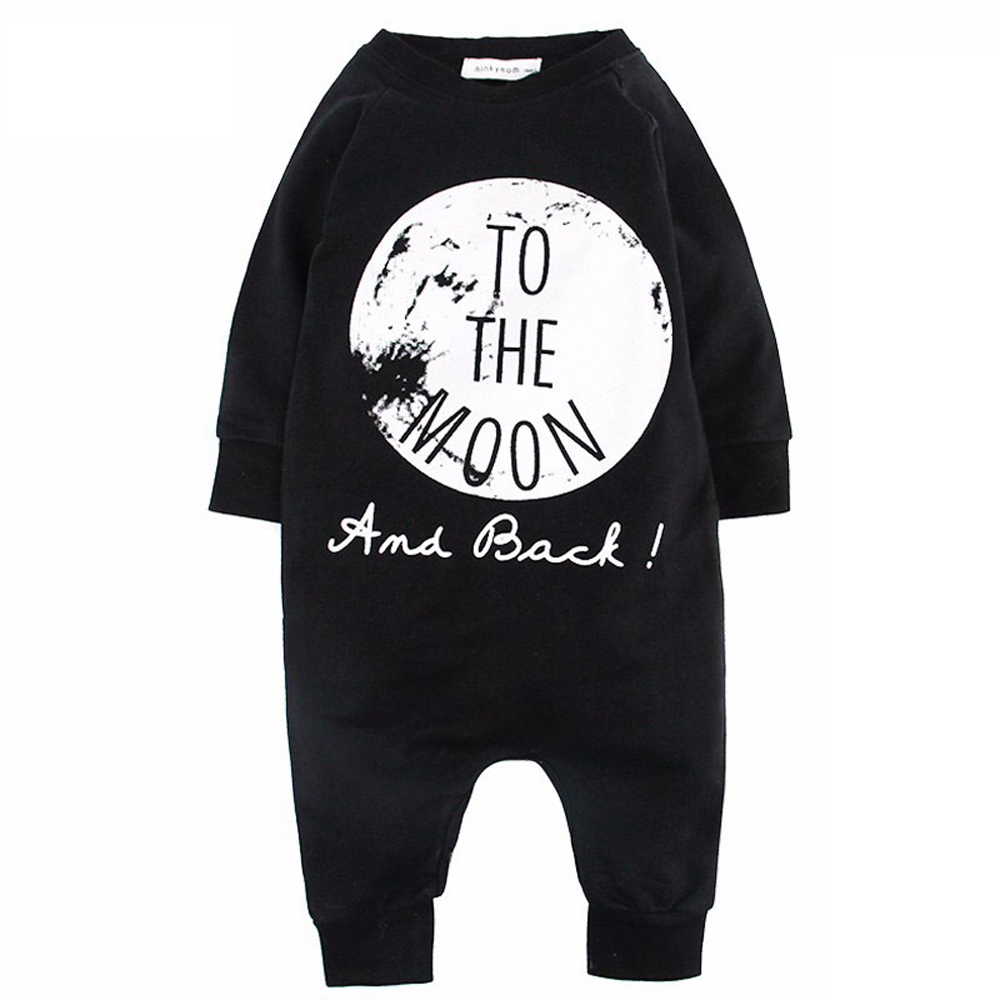 2015 New Spring&Autumn Hot Baby Cloth NO SLEEP To The Moon Children Jumpsuit Kids Pajamas Cotton Boys And Girls Rompers CL0742 2015 new arrive super league christmas outfit pajamas for boys kids children suit st 004