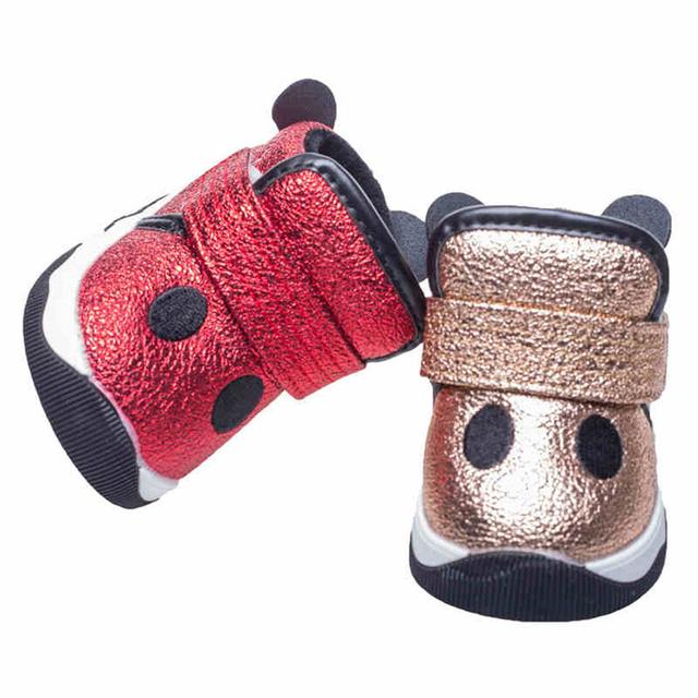 Primer Caminante del bebé Zapatos de Invierno Recién Nacidos Girls Brillante Sneakers Bebek Ayakkabı Resplandor Muchacha Del Niño Zapatos Botas de Tobillo Calientes 80A1012