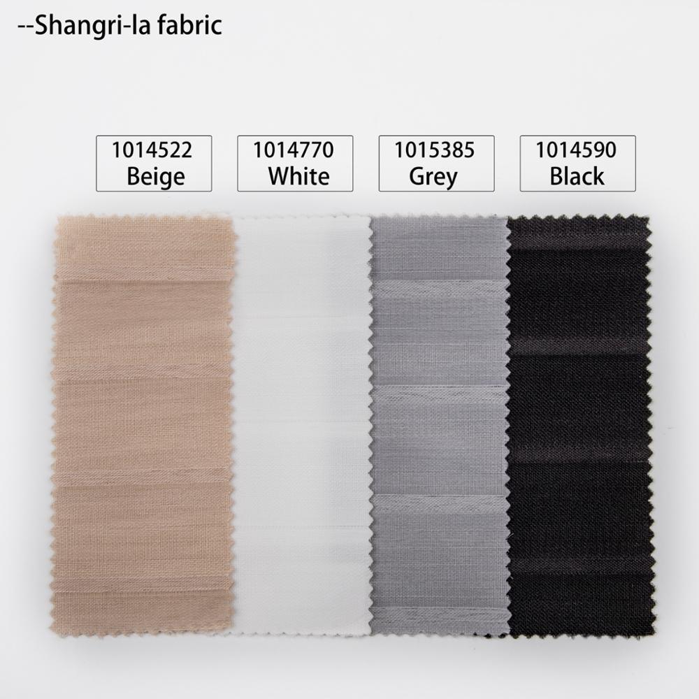 Schrling atacado luxo transparente shangri-la persianas de