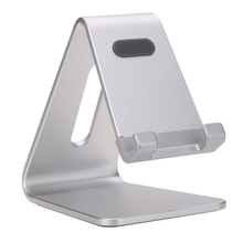 Aluminum Phone Stand Tablet PC Stand Solid Durable Holder Minimalist Design Multi-angle with Portable Adjustable Charging Dock
