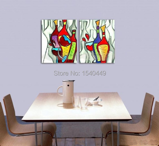 100 hand painted modern abstract oil painting on canvas - Imagenes para cuadros decorativos ...