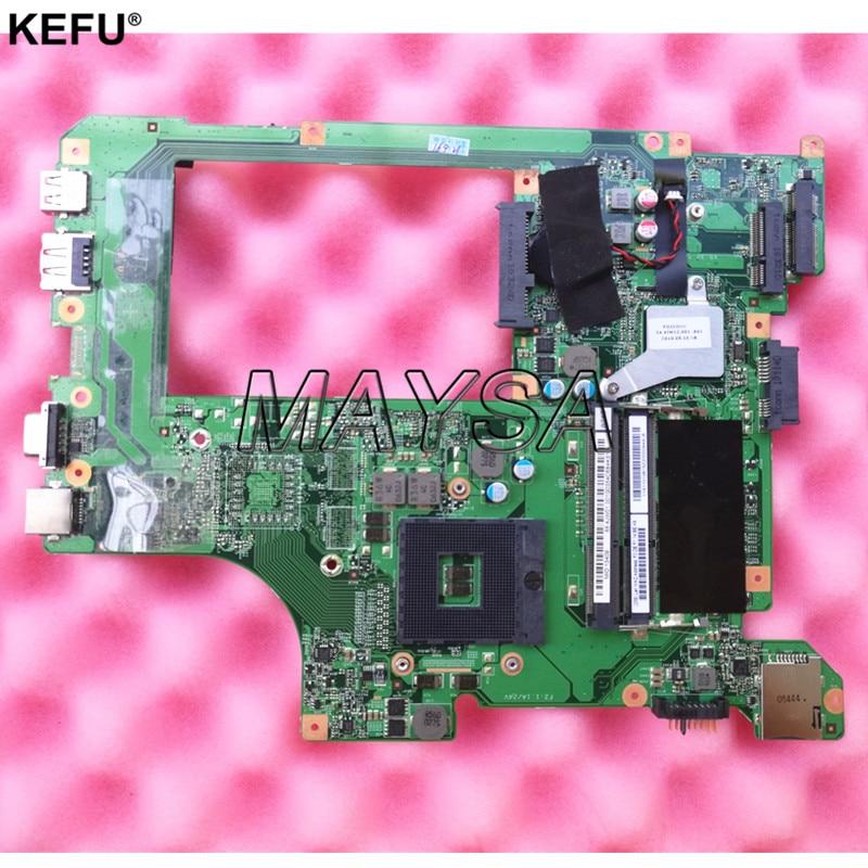 все цены на 48.4JW06.011 Main Board Fit For Lenovo B560 Laptop Motherboard HM55 HD DDR3 10203-1 LA56 NO discrete graphic