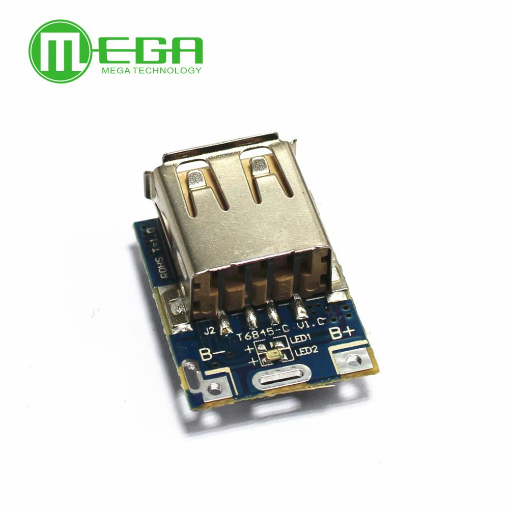 <font><b>5V</b></font> 1A <font><b>Step</b></font>-<font><b>Up</b></font> <font><b>Power</b></font> <font><b>Module</b></font> Li-Po Li-ion <font><b>Lithium</b></font> <font><b>Battery</b></font> <font><b>Charging</b></font> Protection Board Booster Converter Micro USB DIY Charger image