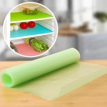 New 44*30cm 4pcs EVA Refrigerator Pad Mat Fridge Anti-fouling Anti Frost Waterproof Pad Kitchen Table Eat Mats for Home