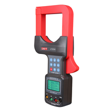 Wholesale prices UNI-T UT253A 1200A Auto Range LCD Display Large Jaws Leakage Current Clamp Meters Clamp Leaker Voltmeter Meter W/RS232 Data Hold