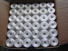 144PCS/BX Wholesale 75D/2 sideless 100% Polyester Embroidery Bobbin thread for Tajima Barudan SWF Chinese embroidery machines