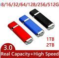 Más barato DEL USB 3.0 USB Flash Drive de 512 GB 256 GB Pen Drive 64 GB Pendrive 64 GB USB Stick 128 GB De Disco En Clave 16 GB Regalo Regalos OTG CALIENTE