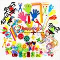 Unids 100 piezas de juguetes para fiesta de niños, bolsas de regalo de cumpleaños para niñas y niños, rellenos de piñones, premios de carnaval, recompensa escolar