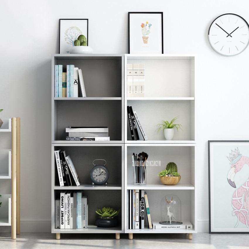 096-1 Modern Simple Bookshelf Cabinet Adjustable Clapboard Bookcase Beech Leg 2-Tier Bookrack Solid Wood Particulate Board096-1 Modern Simple Bookshelf Cabinet Adjustable Clapboard Bookcase Beech Leg 2-Tier Bookrack Solid Wood Particulate Board