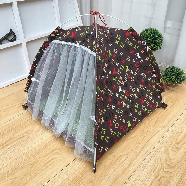 Portable Folding Pet Tent Playpen Dog Fence Puppy Kennel : cat tents for indoors - memphite.com