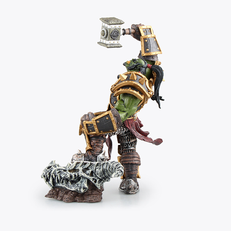 DC WOW Thrall The Orc Shamman Action Figure Toys Thrall The Orc Shamman Doll PVC ACGN Figure Collectible Model Toy Brinquedos 2