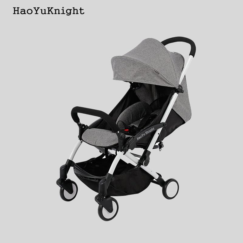 HaoYuKnight Carrinho De Bebe легкая коляска быстро складной коляски Алюминий сплава Детские коляски