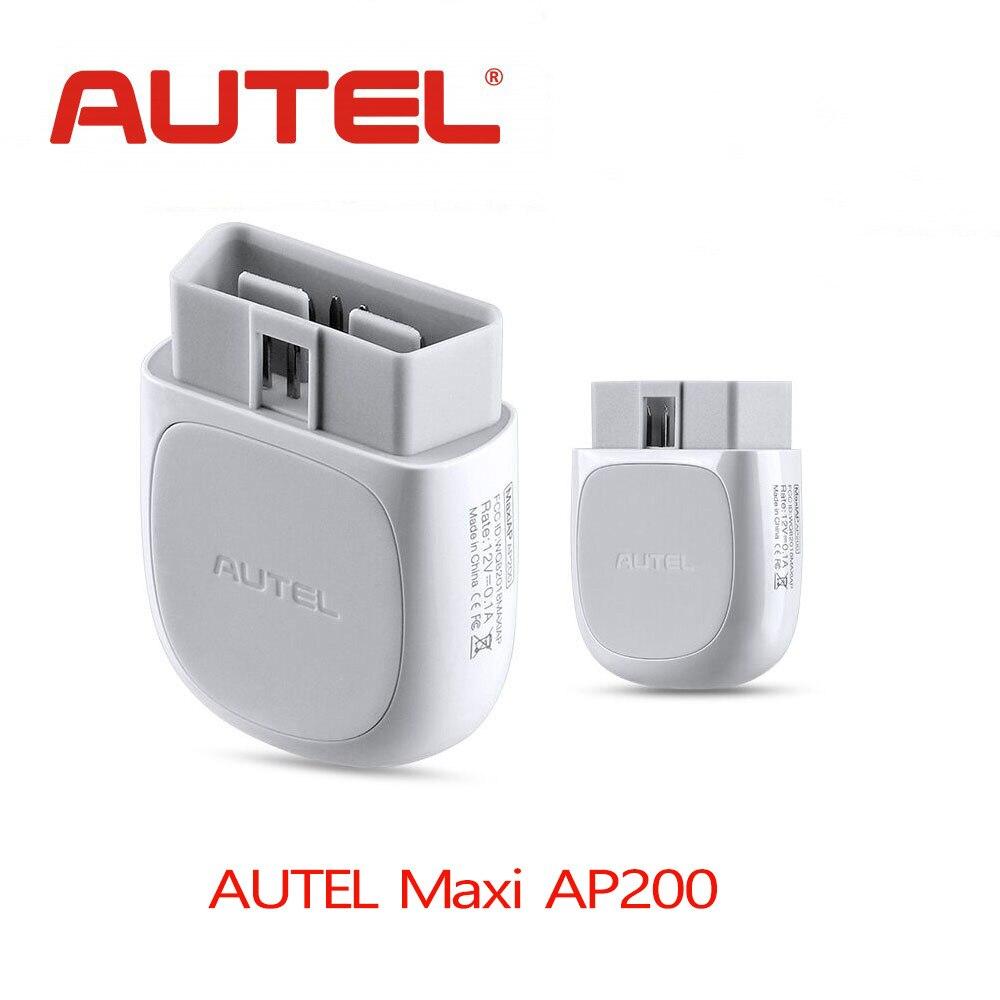 Autel AP200 Bluetooth OBD2 lecteur de Code avec systèmes complets diagnostics AutoVIN TPMS IMMO Service pour les bricoleurs familiaux simplifié