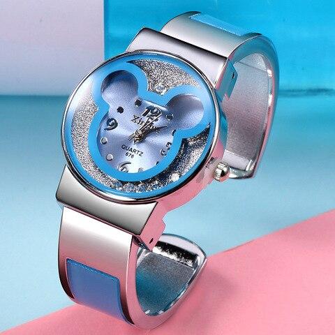 Disney children watch Parent-child quartz watch Mickey mouse lady Bracelet Watch female jewelry gift Lahore