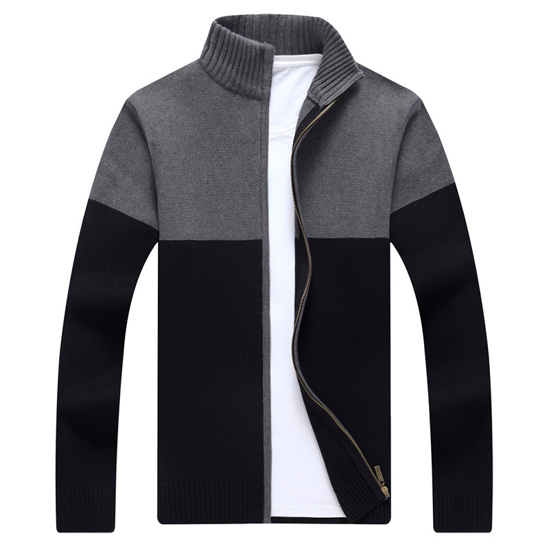 MRMT 2019 Brand Men's Jackets Knitting Sweaters Leisure Vertical Collars Overcoat For Male Sweater Cardigan Jacket Clothing