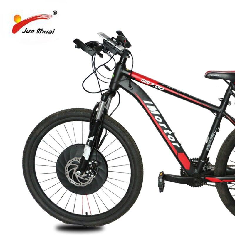 "High Quality 36V Front iMortor wheel Electric Bike Conversion Kit with 20"" 24"" 26"" 700C Motor Wheel e Bike Conversion Kit"