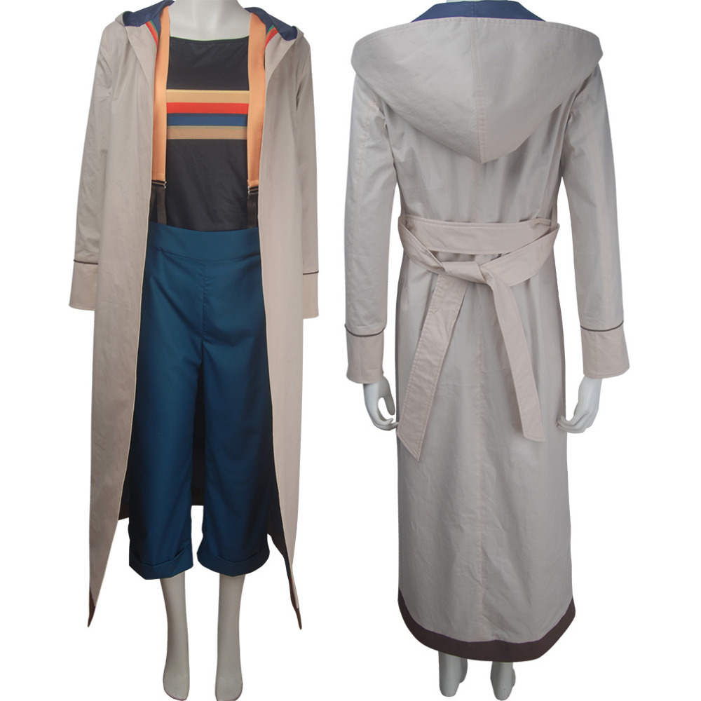 13th Doctor cosplay female Doctor outfit Halloween costume X'mas Christmas birthday Valentine's day gift for women full set