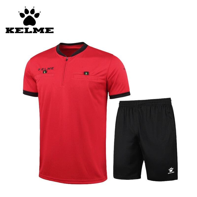 Kelme 2016 maillots de Football arbitre chemise hommes courts survêtements de Football ajustement sec Camiseta Futbol xxxl uniformes customiz 63