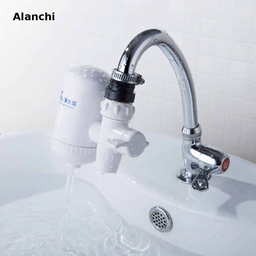 portable ceramic filter faucet filter water purifier,water filter alkaline  water ionizer removes 99% contaminants