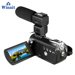 Winait Professional 12 x optical zoom super 4k digital video camera