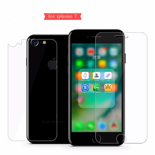 Front and Back 2X Tempered Glass for iPhone X 8 7 6 6S Plus Screen Protector For iPhone 4 4S 5 5s SE Protective Gehard glas sklo 4