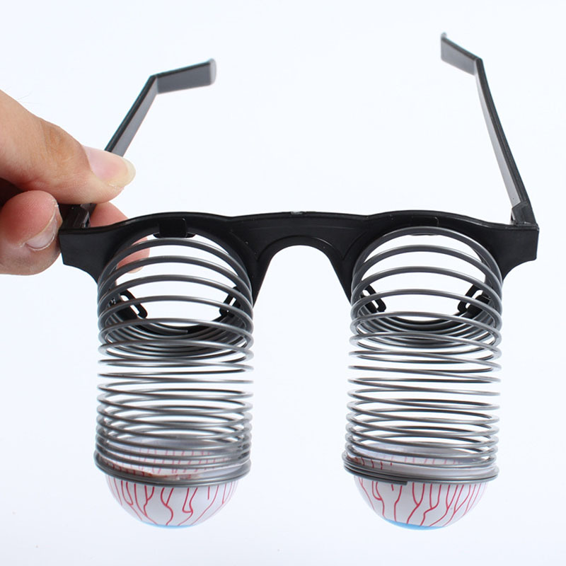 halloween costume novelty accessory adult kids fun joke horror shock pop eyes glasses cosplay carnival costumes - Halloween Novelties Wholesale