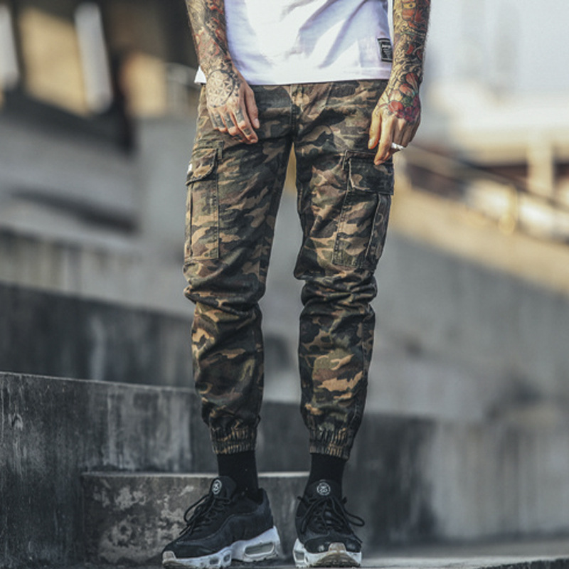 Malkris 2017 New Spring Tactical Pencil Cargo Pants Men Camouflage  Sportwear Fashion Trousers Camo Pants-in Jeans from Men s Clothing on  Aliexpress.com ... 9afa5d25157