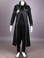 2016 HOT New Sword Art Online Cos Kirigaya Kazuto Cosplay Uniform Dress Cosplay Costume Kirito Cosplay