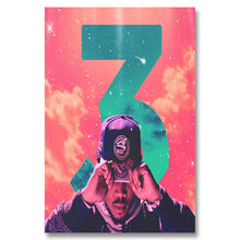 A170 Chance The Rapper Hot Music Acid Star Top A4 Art Silk Poster Light Canvas Painting Print Home Decor Room Wall Pictur