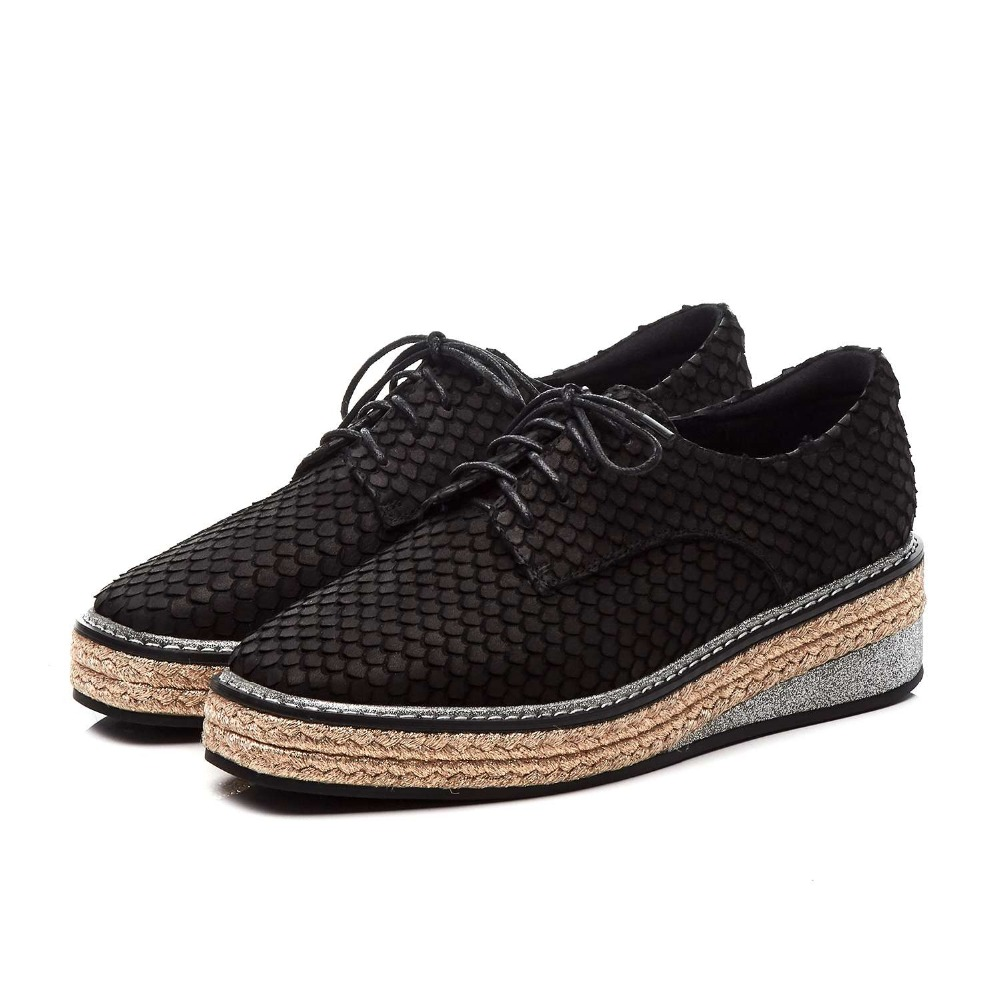 In bianco e nero singolo, scarpe col tacco alto, di modo professionale casual dating - 5